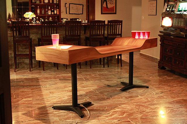 Custom Beer Pong Table