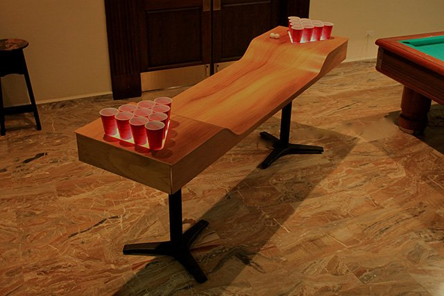 Custom Beer Pong Table