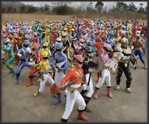 Epic Power Rangers Battle