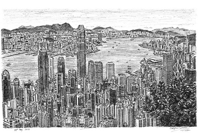 Stephen Wiltshire S Cityscapes