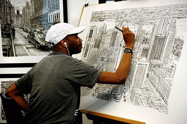 Stephen Wiltshire's Cityscapes