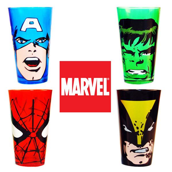 Marvel Glass Tumblers