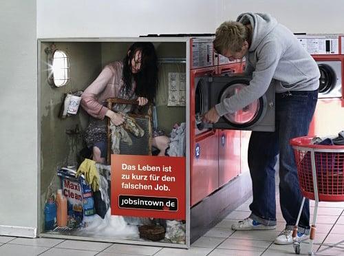Bad Jobs Print Ads