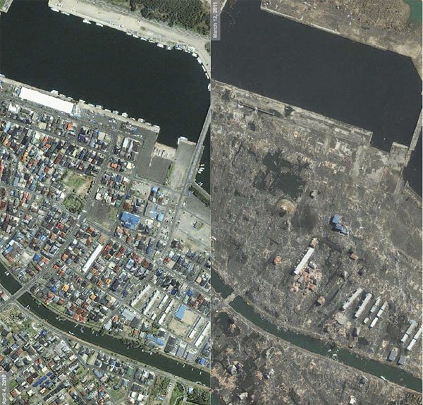 Satellite Photos Japan Before And After Tsunami .html ...