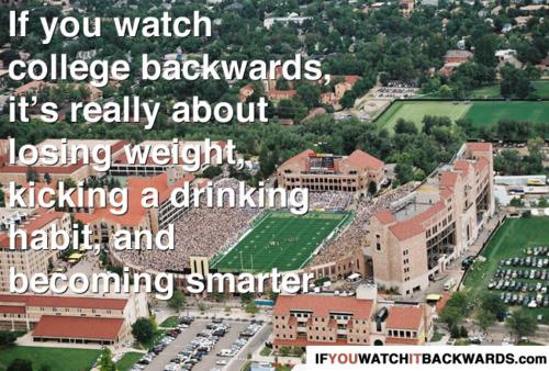 If You Watch it Backwards