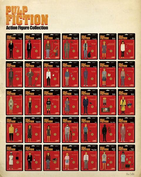 Pulp Fiction Action Figures