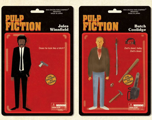 Pulp Fiction Action Figures