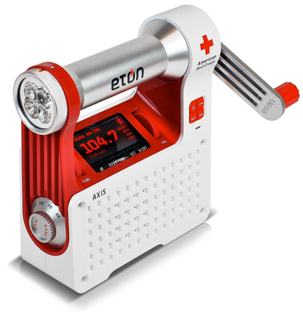 Etón Red Cross Axis Radio