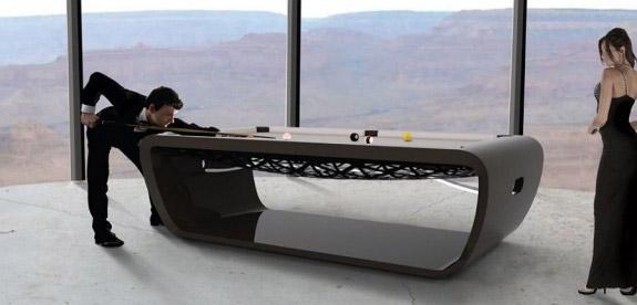 BlackLight Billiards Table