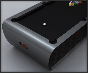 BlackLight Billiards Table