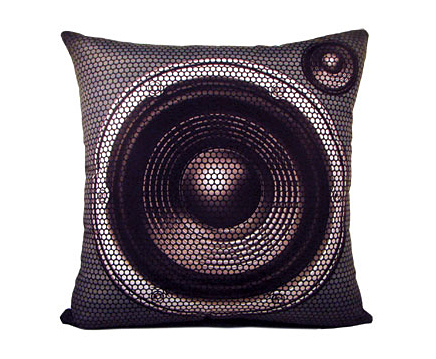 Boombox Pillow Set