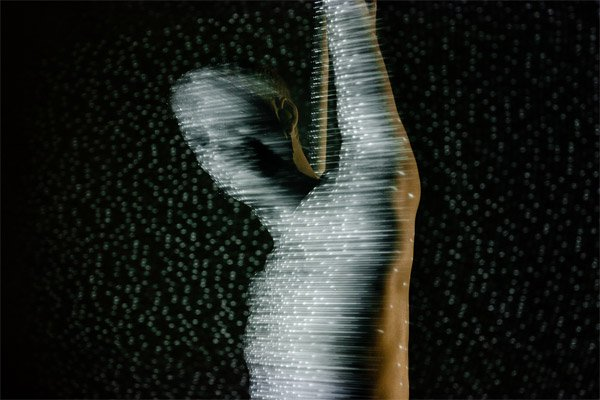 Kinect Infrared Art