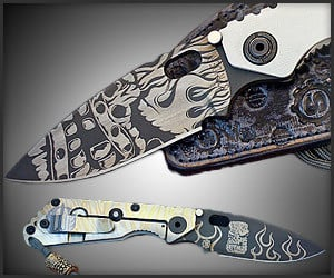 Strider Starlingear Tiki Knife