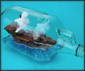 LEGO Ship-in-a-Bottle