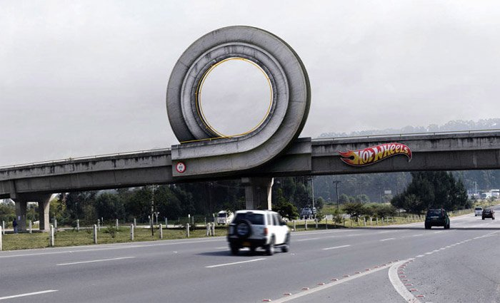 Hot Wheels Billboards