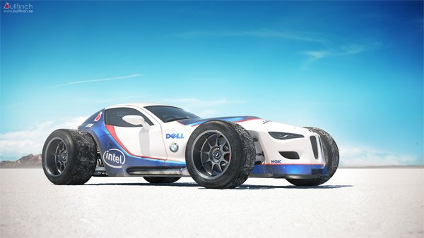 Retro F1-inspired BMW Concept