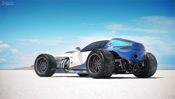 Retro F1-inspired BMW Concept