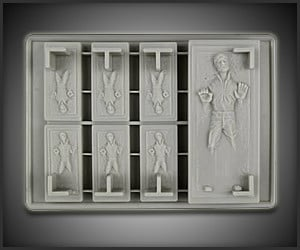 Han Solo in Carbonite Ice Tray