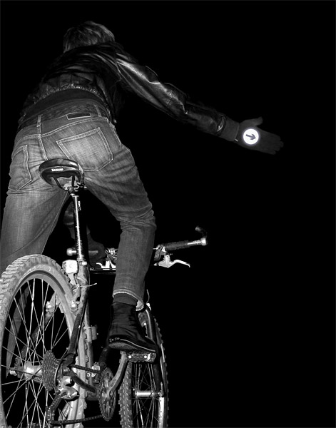 Reflective Biker Gloves & Socks