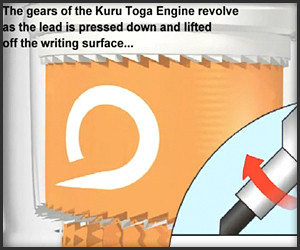 Kuru Toga Self-Sharpening Pencil