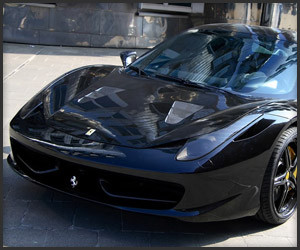 Ferrari 458 Black Carbon Edition