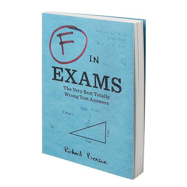 F in Exams (Book)