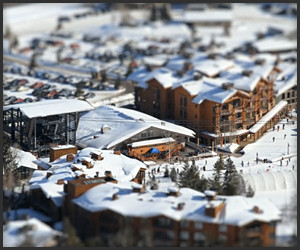 Jackson Hole Tilt-Shift