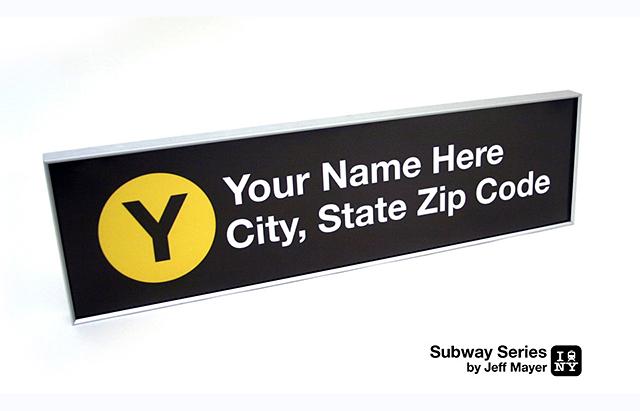 Custom Subway Stop Signs
