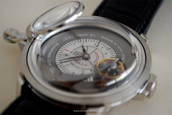 Gagarin Flying Tourbillon Watch
