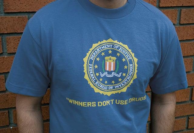Winners Don't Use Drugs Tee