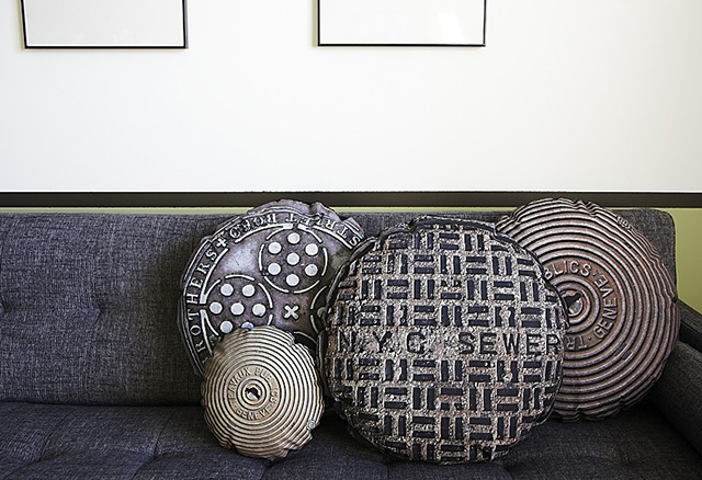 Sewer & Manhole Cover Pillows