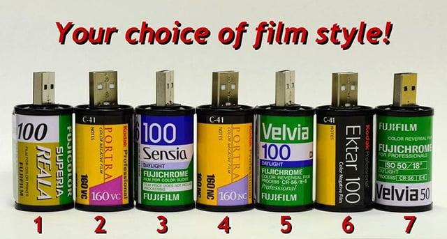 35mm Film Flash Drive