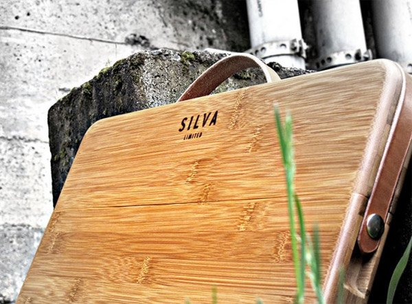 Silva Bamboo MacBook Case