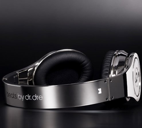 Beats Chrome Headphones