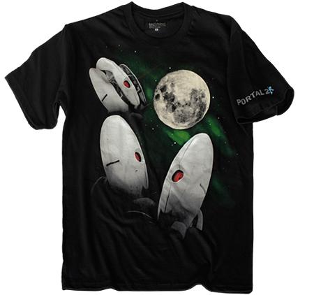 Three Turret Moon T-Shirt