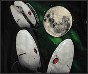 Three Turret Moon T-Shirt