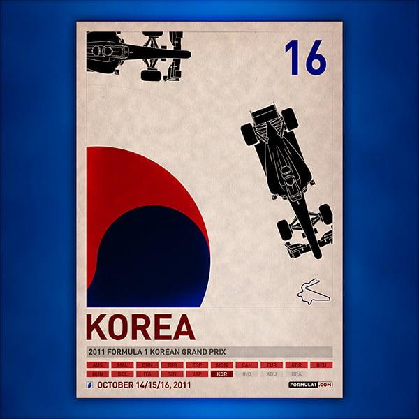 F1 Grand Prix Posters