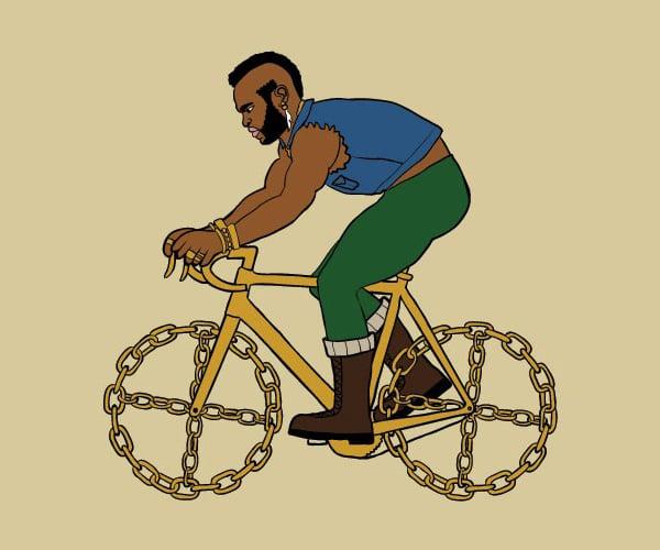 Mike Joos Bike Art