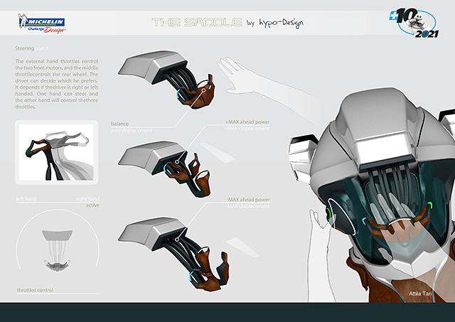 Michelin Straddle Concept