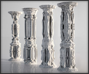 Subdivided Architectural Columns