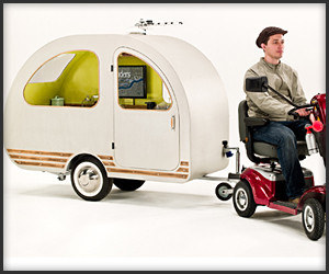 World's Smallest Caravan