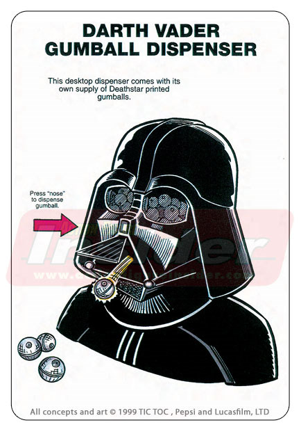 Rejected Star Wars Products