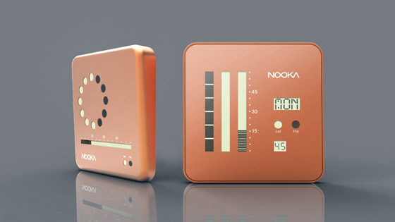Nooka Wall Clock