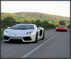 A Pair of Aventadors