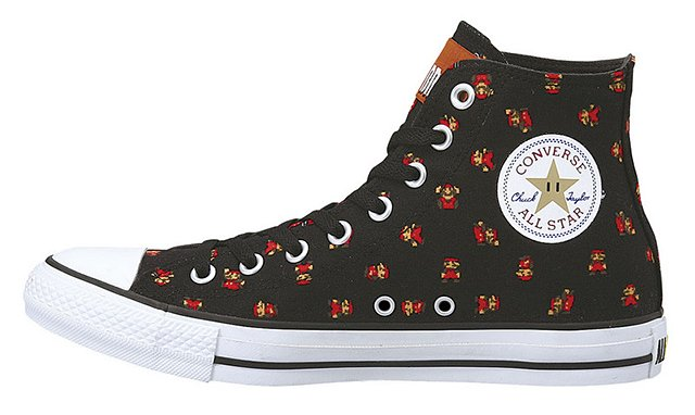 Super Mario Converse All Star