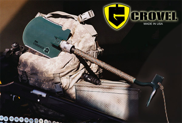 Crovel Folding Shovel