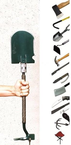 Crovel Folding Shovel