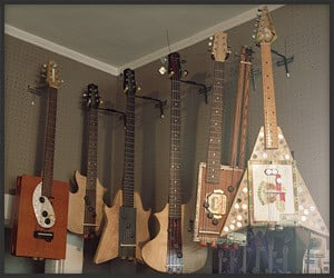 Cigar Box Electric Guitars