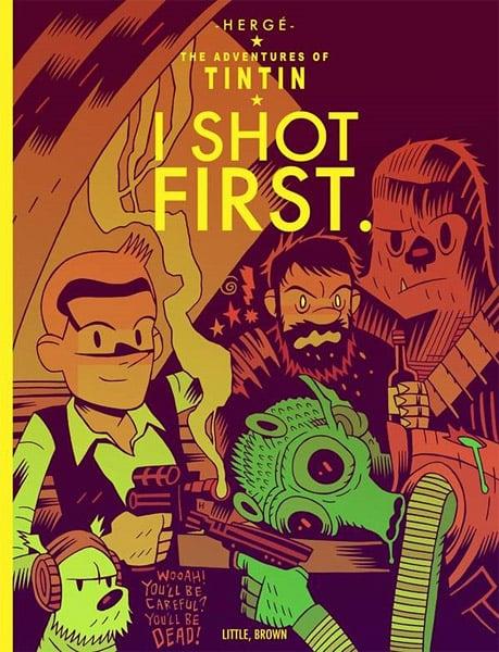 Sci-Fi: Tintin Style