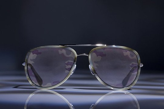 Trussardi 1911 Camo Glasses
